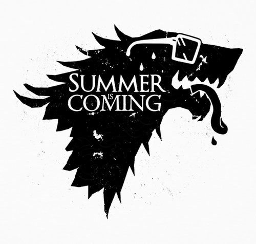 Water Game of Thrones! Summer is coming