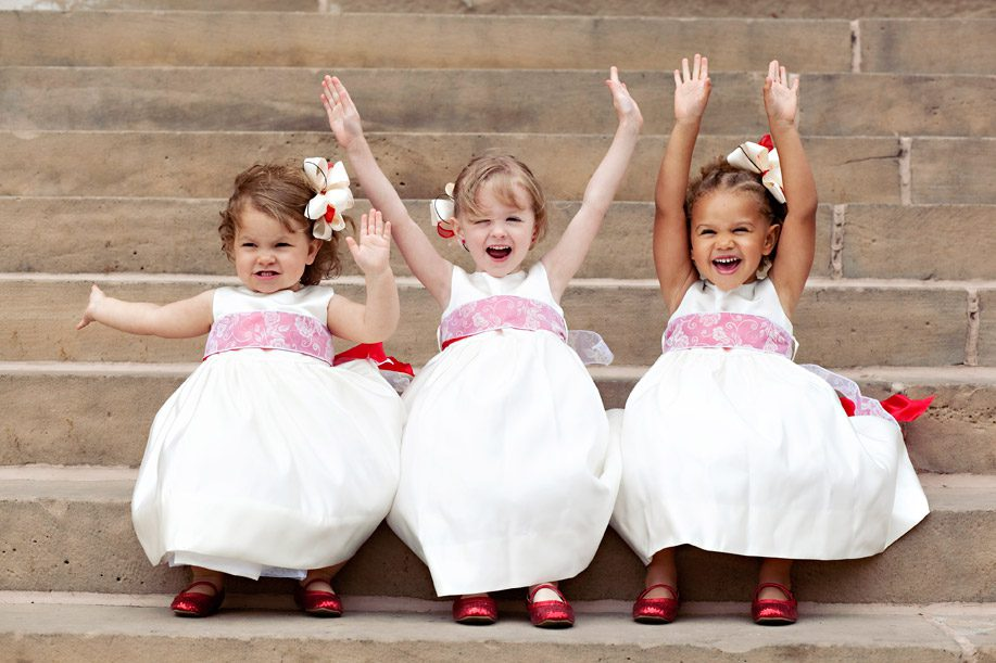 Children at your wedding? You don't have to mind