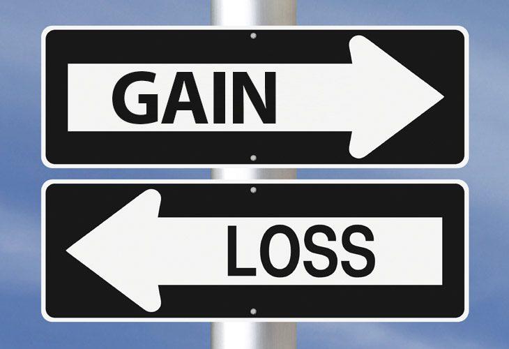Gain versus loss