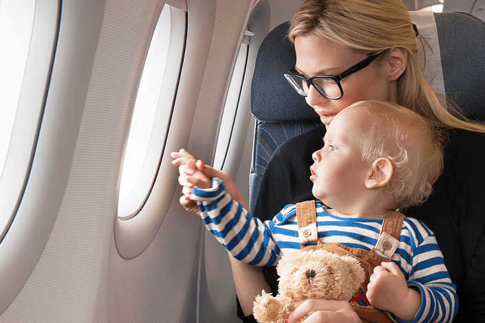 Should I travel with a 4 year-old and a 2 year-old child?